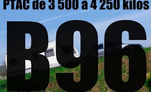 Permis remorque B96 à Bastia