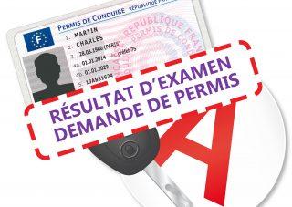 Permis de conduire : Résultat & Procédure administrative