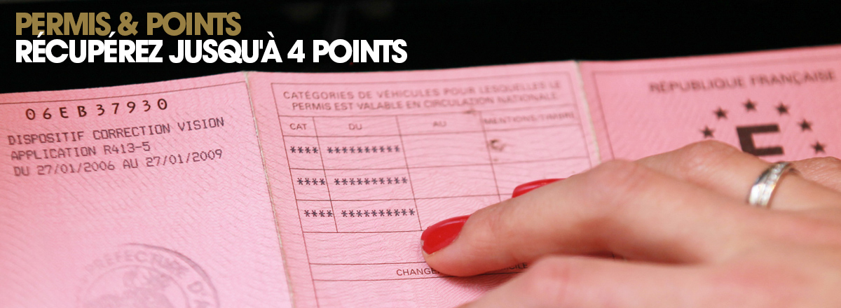 points permis de conduire Stage Bastia