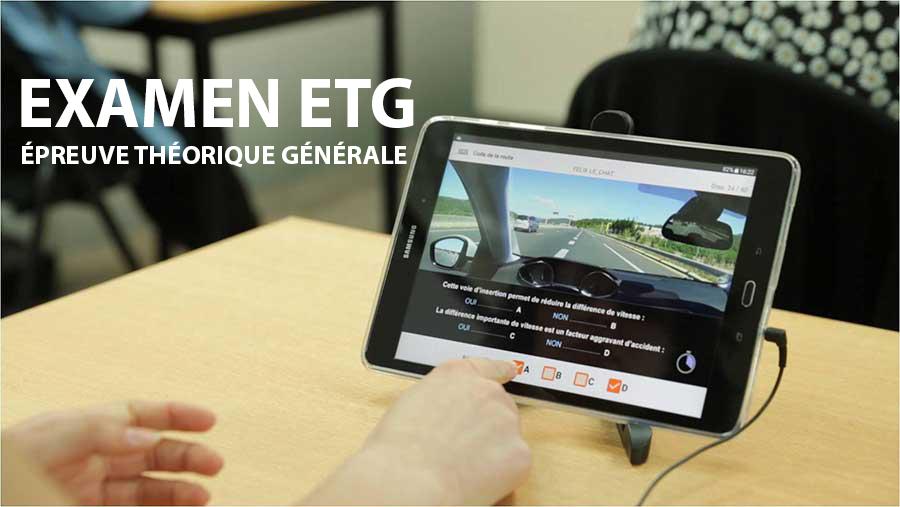 Epreuve théorique générale (ETG) du permis de conduire : l'essentiel à savoir